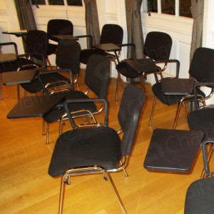 Order as many chairs as needed, increase or decrease at any time.