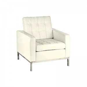 One Seater Cream Montague Sofa