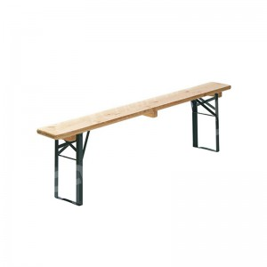1800 x 250mm Wooden Folding Bench (Seats 4)