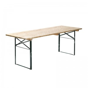 1800 x 800mm Wooden Folding Table