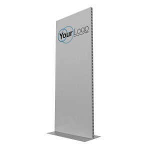 1m Lightweight Portable Aluminium Partition with Branding