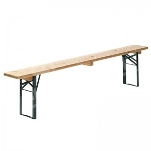 2200 x 250mm Wooden Folding Bench (Seats 4)