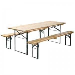 2200mm Beer Table & Benches Set