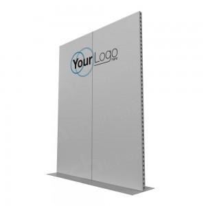 2m Lightweight Portable Aluminium Partition with Branding