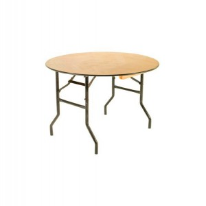 3ft Round Trestle Table