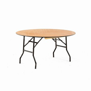 4ft Round Trestle Table