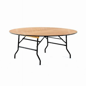 5ft Round Trestle Table