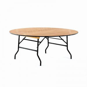 5ft6 Round Trestle Table