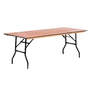6ft Rectangular Trestle Table