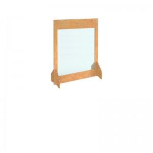 700w x 900h Freestanding Cardboard Screen Non-Windowed