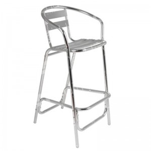 Aluminium High Bar Stool
