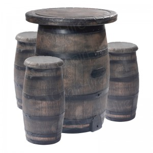 Barrel Bar Set