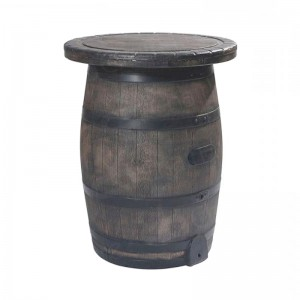 Barrel Bar Table