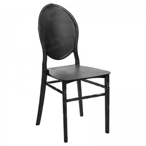 Black Medaillion Chair