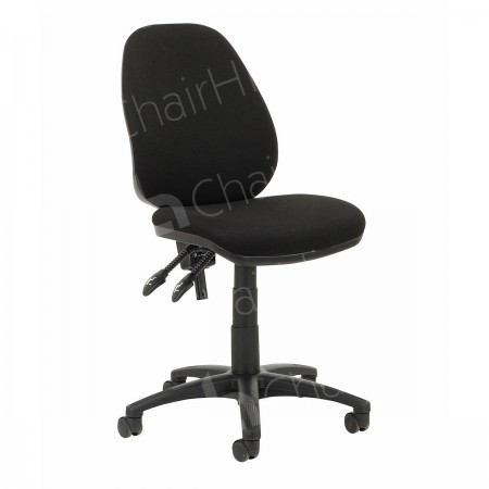 Main Image of Black Operators Chair without Arms