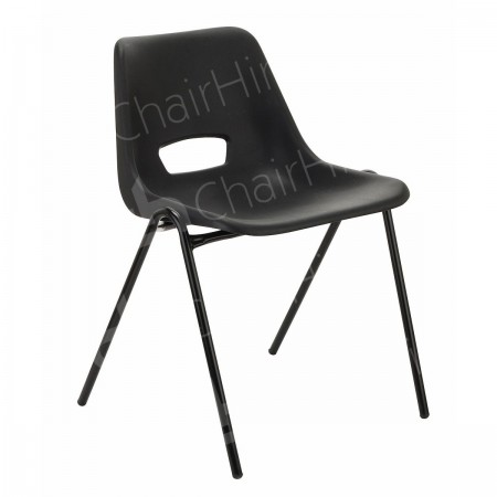 Additional Image #1 of Black Polyprop Chair