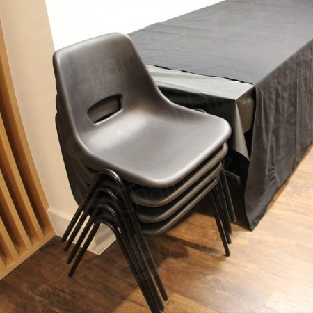 Additional Image #13 of Black Polyprop Chair