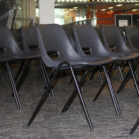 Additional Image #12 of Black Polyprop Chair