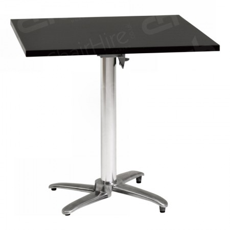 Main Image of Black Square Bistro Table