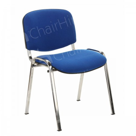 Main Image of Blue Stacking Chair
