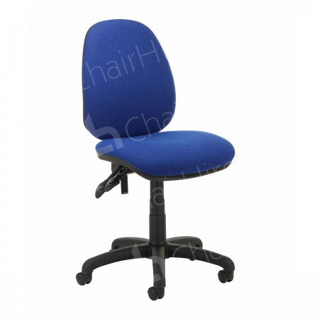 Main Image of Blue Operators Chair without Arms