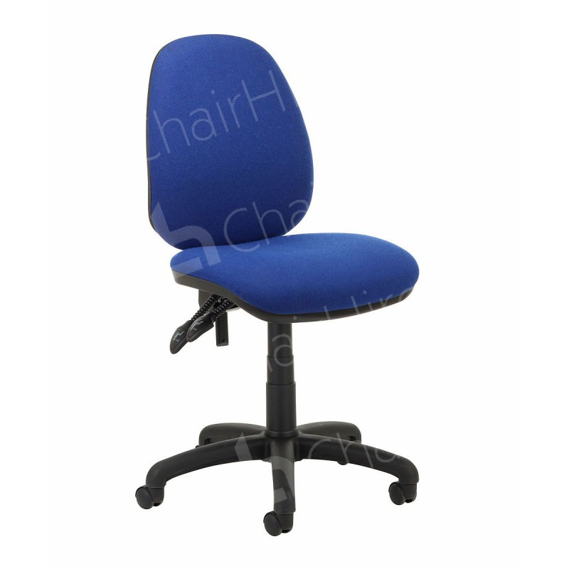 Blue fice Chair without Arms