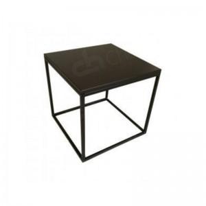 Box Frame Coffee Table Black