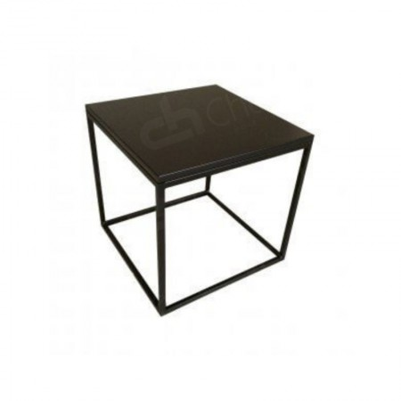 Main Image of Box Frame Coffee Table Black 460 x 460 x 460