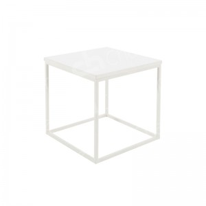 Box Frame Coffee Table White