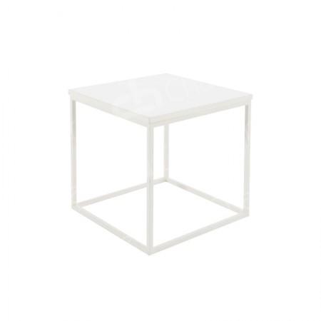 Main Image of Box Frame Coffee Table White 460 x 460 x 460
