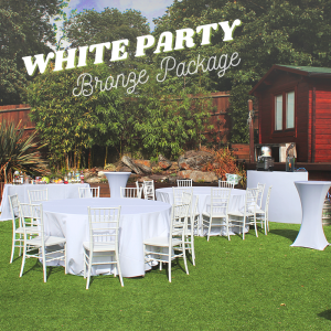 White Party Package - Bronze