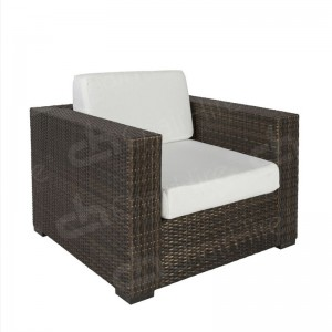 Brown Rattan Chair