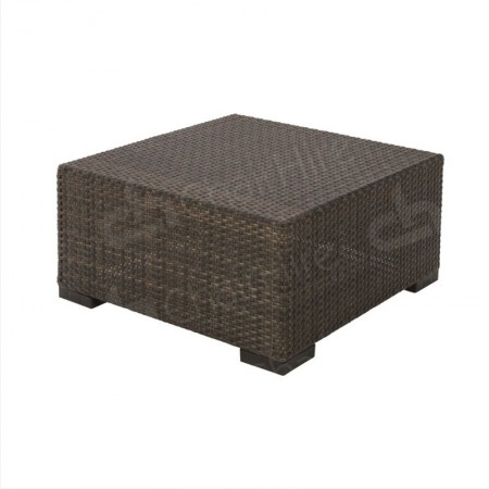 Main Image of Rattan Coffee Table Small Brown