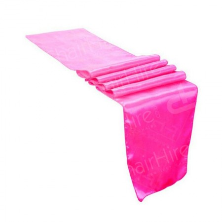 Main Image of Table Runner - Cerise Pink | Linen Hire London