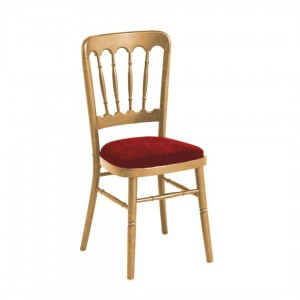 Cheltenham Chair - Red and Gold