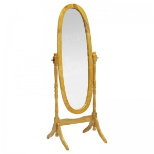 Cheval Mirror Light Oak
