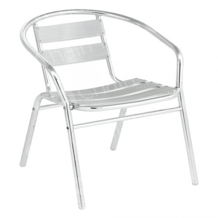 Main Image of Chrome Bistro Chair