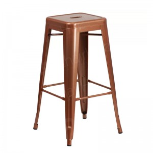 Copper Tolix Style Bar Stool