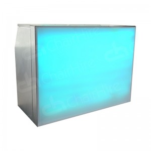 Folding Aluminium Back-Lit Bar