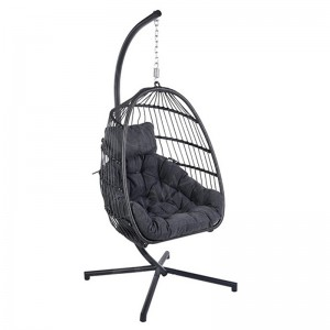 Folding Hanging Cocoon Chair
