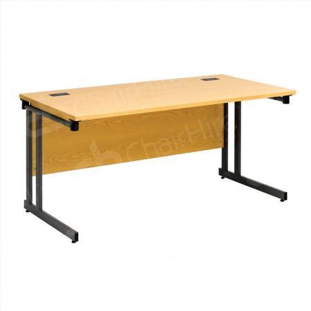 Main Image of 1500mm Folding Leg Straight Desk