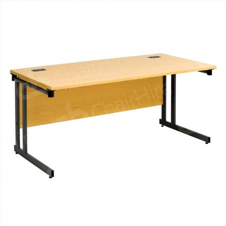 Main Image of 1600mm Folding Leg Straight Desk