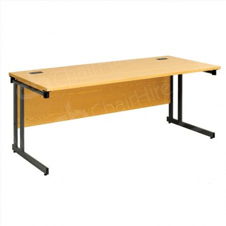 Main Image of 1800mm Folding Leg Straight Desk
