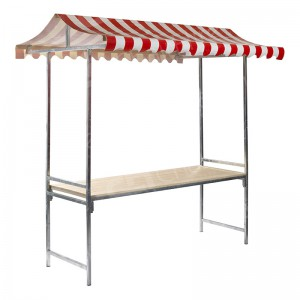Folding Market Stand 2m