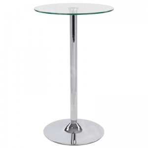 Glass Poseur Table - Round