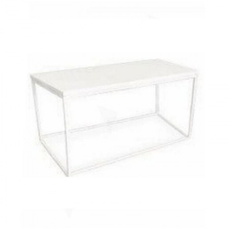 Main Image of Box Frame Coffee Table White 460 x 920 x 460