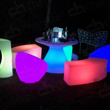 Main Image of LED Colour-Changing Bar Stool