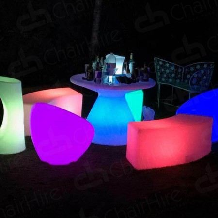 Main Image of LED Colour-Changing Bubble Chair