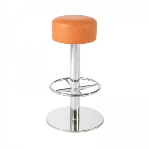 Orange Lotus Stool