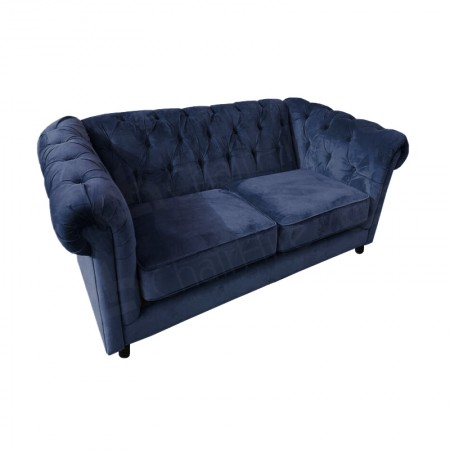 Main Image of Royal Blue Chesterfield Sofa Hire